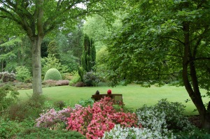 A moment of bliss at Great Comp Garden, Kent, England