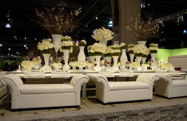 Contempory White Wedding
