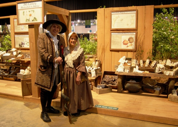 Kirk and Sara Brown as John and Ann Bartram