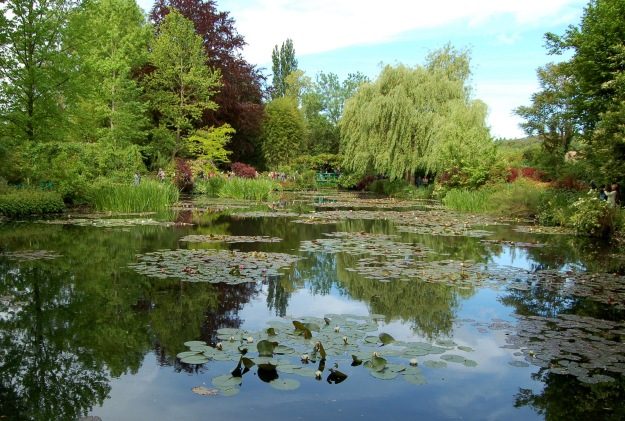 Monet began the water garden in 1893, ten years after moving to Giverny.