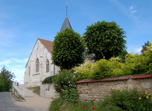 The church at Giverny.