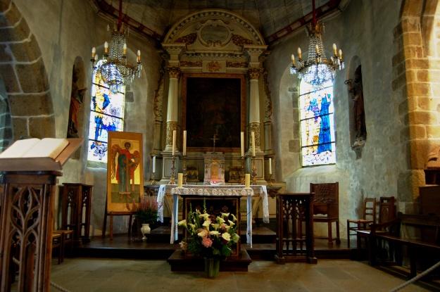 The Chapel of St. Peter on Mont Saint-Michel.