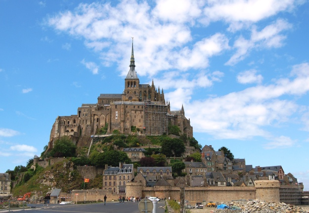 Mont Saint-Michel is the one of the most recognized symbols of France, second only to the Eiffel Tower.