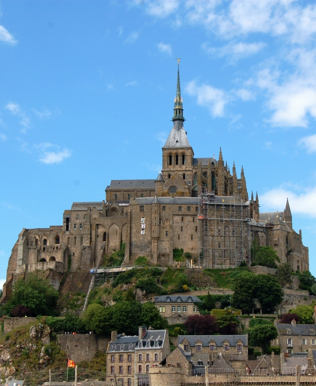 ...and the real thing, Mont Saint-Michel.