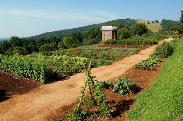 Visiting Monticello Hortitopia