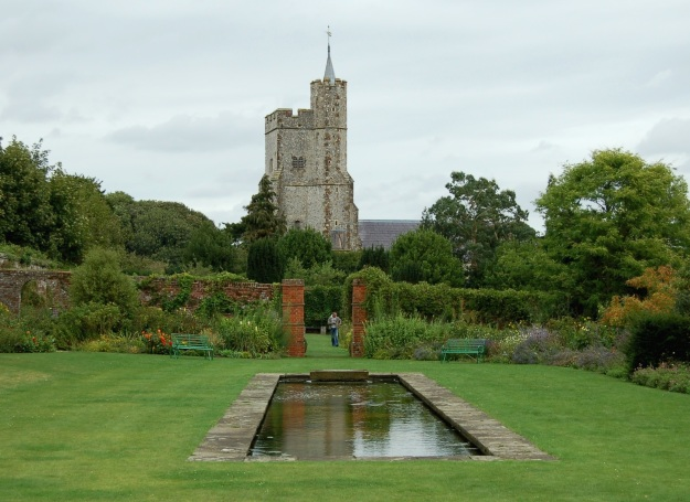 Goodnestone Park's Walled Garden.