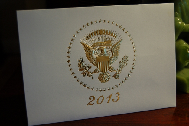 White House holiday card for 2013.