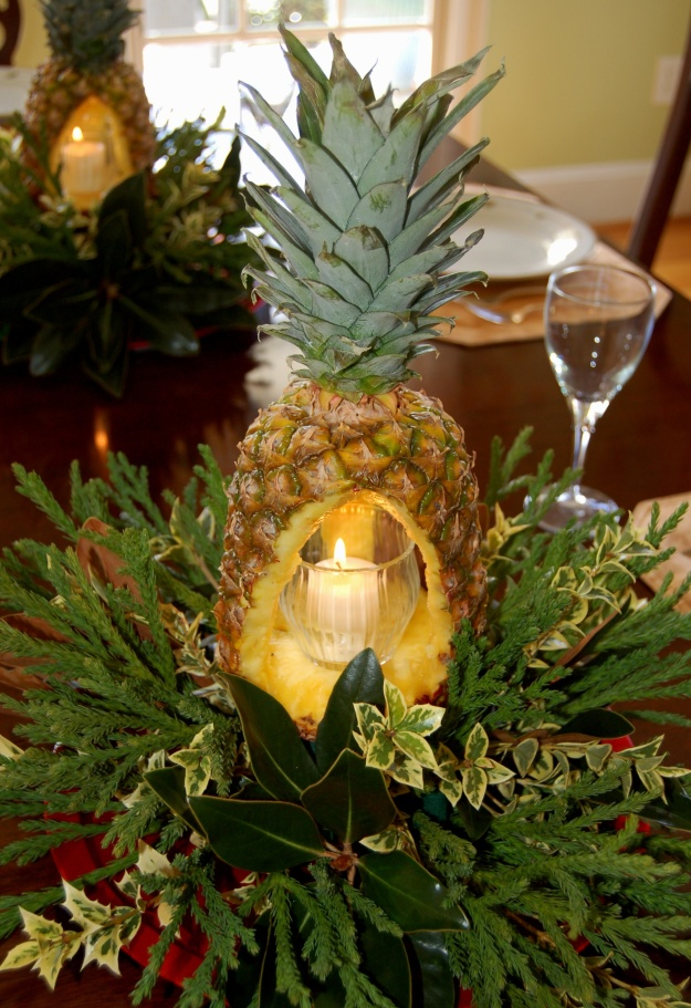 This fruity centerpiece is a crowd pleaser.