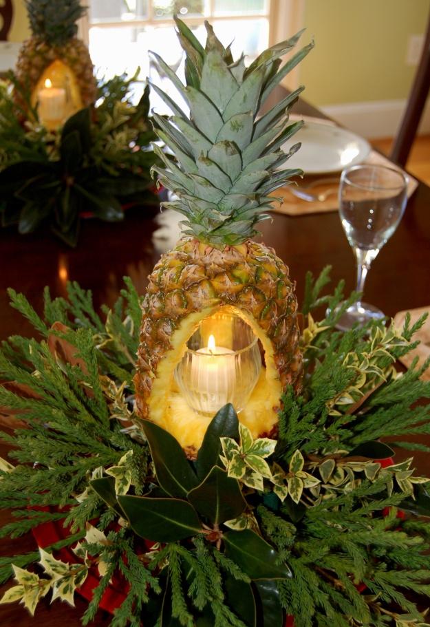 Pineapple Centerpiece Hortitopia