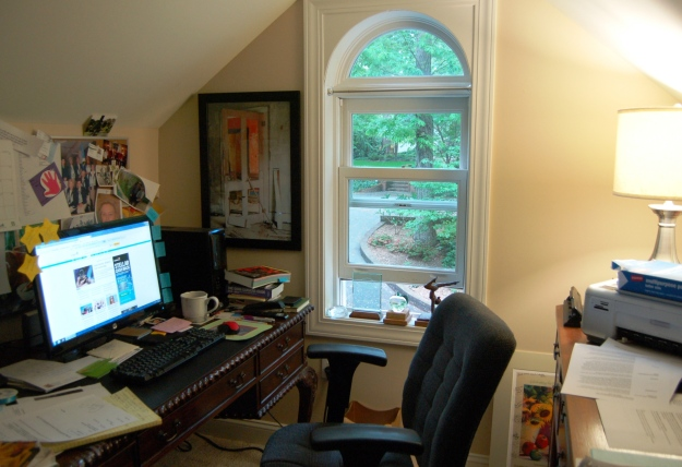 My work space...and window on the world.