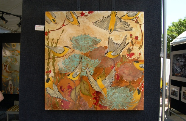 Bradley's art, inspired by flora and fauna, is a study in balance, movement, and rhythm.