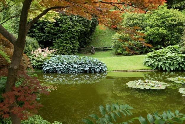 Villa Melzi, Japanese garden