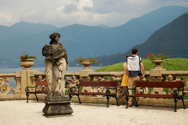 Young love at Villa Balbianello