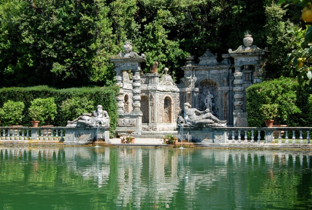 Marlia Villa Reale near Lucca, home of Napoleon's sister Elsa.