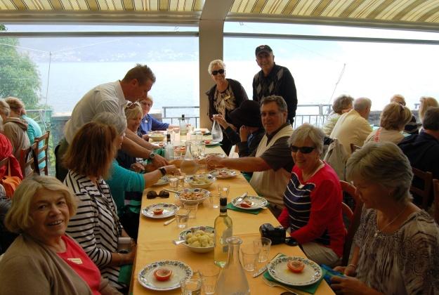Best meal:  Locanda Dell'Isola Ristorante on Isola Comacina, Lake Como.