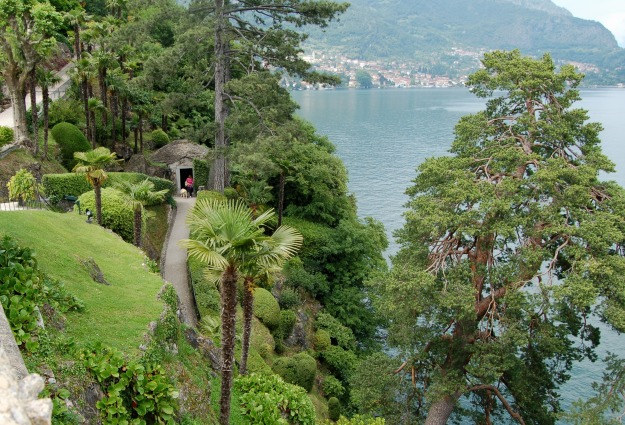 Villa Balbianello on Lake Como.