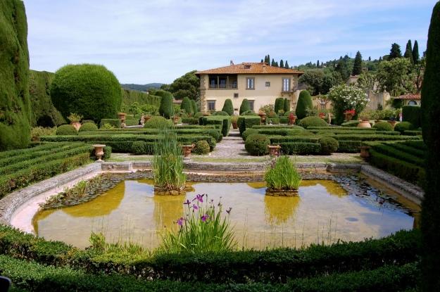 Villa Gamberaia in Settignano.