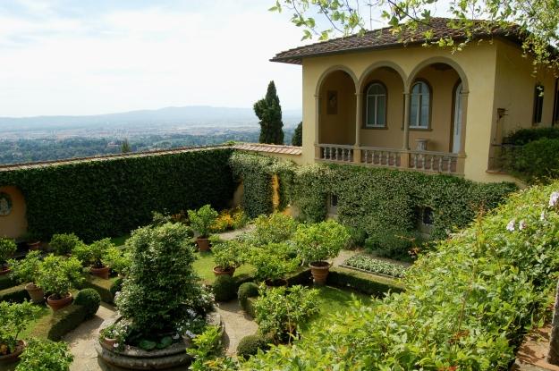 Villa Le Balze in Fiesole.