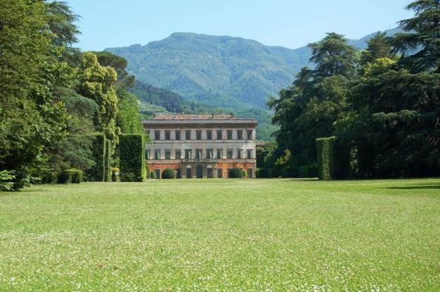 Marlia Villa Reale (home of Napoleon's sister Elsa) near Lucca.