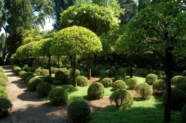 Giardini della Landriana near Torre San Lorenzo.