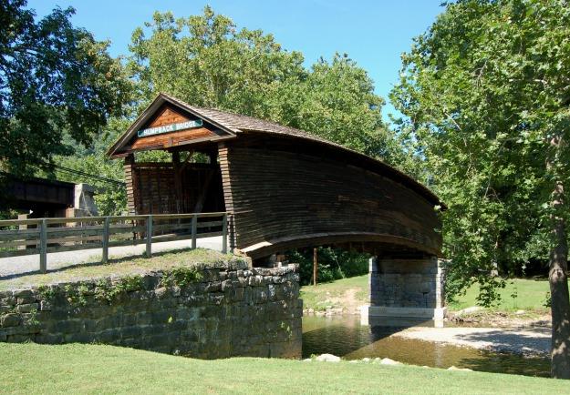 Humpback Bridge near Covington, Virginia