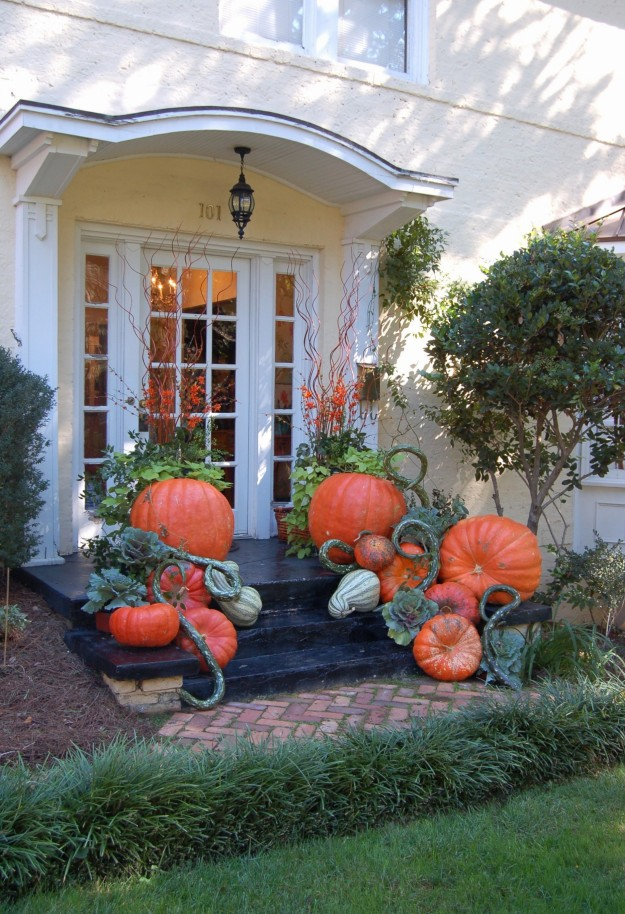 Lisa's display is an eagerly awaited autumn treat.