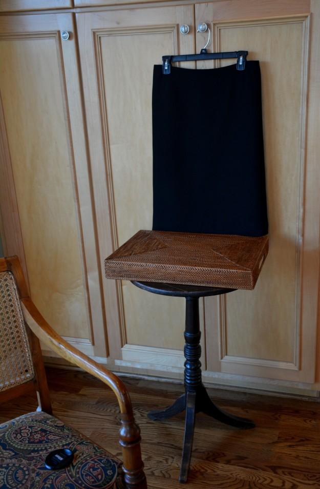 An inside peek at the photographer's professional studio.