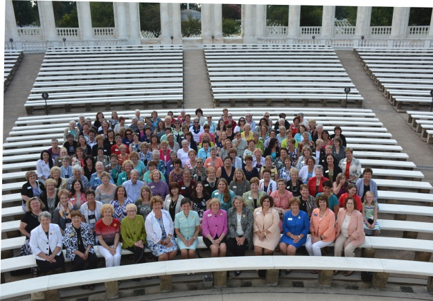 GFWC Board of Directors at Arlington National Cemetery.