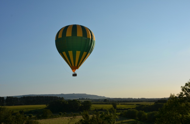 And if you didn't have enough excitement during the day, you could book a balloon ride for the evening!